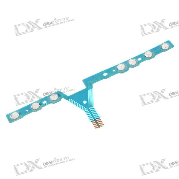 Repair Parts Replacement Volume Key Ribbon Cable Module for PSP 3000 repair parts replacement bus wires for psp 3000 3 piece set