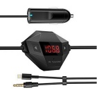 Auto Universal Wireless FM Transmitter MP3-Adapter - Schwarz