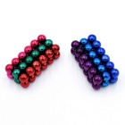 5mm DIY NdFeB Magnetic Balls Toy - Multi-Colored (72PCS)