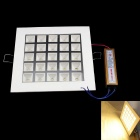 1550lm 3000K 25-LED 180-Degree Beam Angle Panel Lamp w/ Power Driver