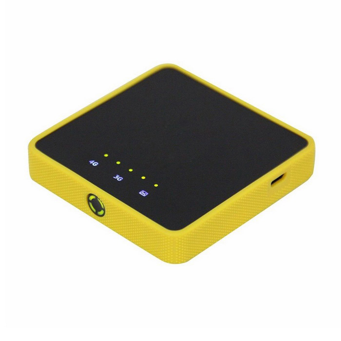 Y853 100Mbps 4G LTE FDD 800/1800 / 2600MHz Wireless Router w / Power Bank