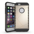 Protective Plastic Back Case for IPHONE 6 - Golden