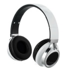 D-510 Bluetooth Headphone Headset w/ LED Flash, FM, TF Slot - White