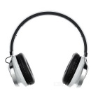 D-510 Bluetooth Headphone Headset w / LED Salama, FM, TF Slot-Valkoinen