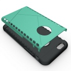 Protective Plastic Back Case for IPHONE 6 - Green