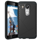 Protective Plastic + TPU Back Case for LG Nexus 5X - Black