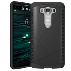 Protective Plastic Back Case for LG V10 - Black