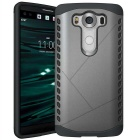 Protective Plastic Back Case for LG V10 - Grey