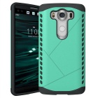 Protective Plastic Back Case for LG V10 - Green