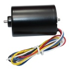 BLDC3650 Brushless DC 24V 8300RPM Motor w/ Brake Function - Black