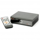 "2.5"" SATA Hard Disk 1080P Full HD Media Player - Black"