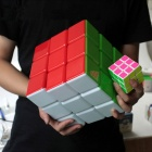 18*18*18cm 3*3*3 Big Magic IQ Cube - Multicolored