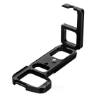 L-Shape Quick Release Plate for Sony A7R2 / A7M2 / A7II - Black