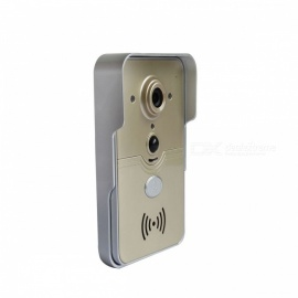 Smart RC Wireless WiFi Video Doorbell for IOS Android Devices - Golden