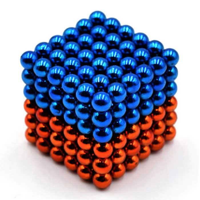 5mm Puzzle Magnetic Beads - Light Blue + Orange (216PCS)Magnets Gadgets<br>Form  ColorBlue and orangeMaterialMagnetQuantity1 DX.PCM.Model.AttributeModel.UnitNumber216Suitable Age 5-7 years,8-11 years,12-15 years,Grown upsPacking List216 x Magnets<br>