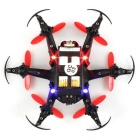 JJRC H20C 2.4G 6-Eje Gyro 4CH Drone w / 2.0MP - Rojo + Negro