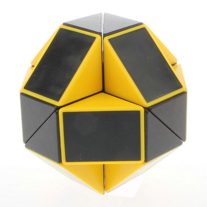 ShengShou 24-Section Shape Changing Magic Ruler Puzzle - Yellow+ Black