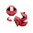 ShengShou 24-Section Shape Changing Magic Ruler Puzzle - Red + Black