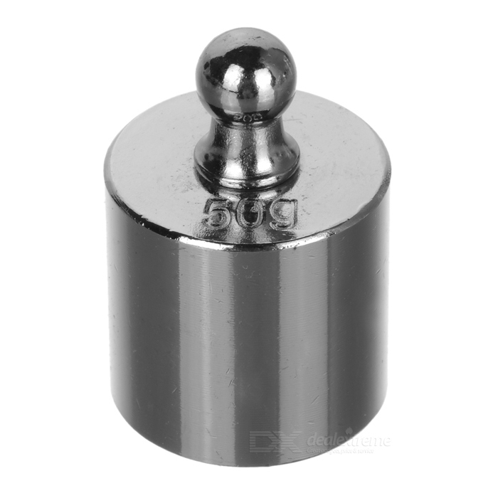 50g Calibration Weight for Digital Scale - Silver