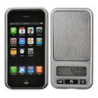 "1.65"" LCD Digital Mini Pocket Scale - Black + Silver (500g / 0.1g)"