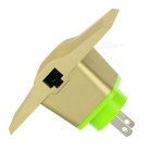 VONETS VRP5G 750Mbps Dual Band Wi-Fi Repeater / Bridge US Plugss - Gold