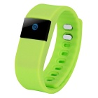 "0.49"" OLED Bluetooth V4.0 Smart Bracelet Fitness Tracker - Green"