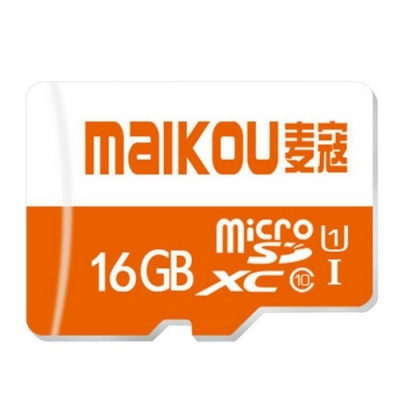 MAIKOU Class10 Micro SD / TF High Speed Memory Card - Orange (16GB)