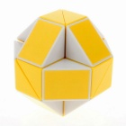 ShengShou 24-Section Shape Changing Magic Ruler Puzzle - Yellow+ White