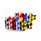 ShengShou 24-Section Shape Changing Magic Ruler Puzzle - White + Black