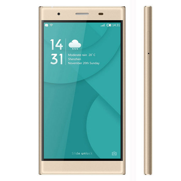"DOOGEE Y300 Android 6.0 4G Phone w/ 5.0"" HD, 2GB RAM, 32GB ROM - Gold"