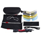 Vis 9005C2 Sport Goggle Sunglasses - Black + Red