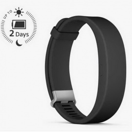Sony SmartBand 2 SWR12 Activity Tracker with Heart Rate Monitor-Black