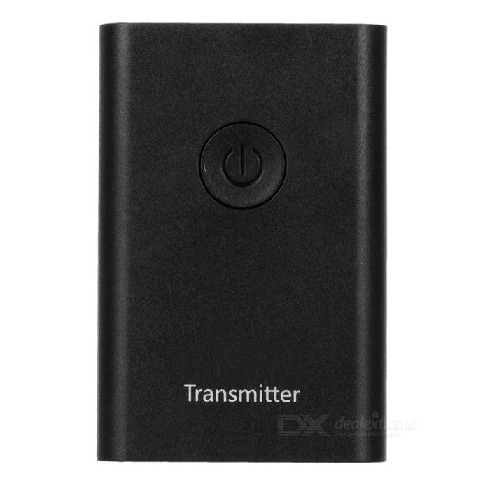Mini Bluetooth 3.0 + EDR Audio Transmitter Adapter - Schwarz