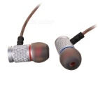 KZ EDR2 Universal 3.5mm Plug In-ear Earphone -Translucent Black+Silver