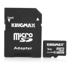 Genuine KingMax Micro SD/TransFlash Card with SD Card Adapter (16GB/Class 6)