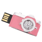 SAMDI Kamera Shaped USB 2.0 Flash Drive - Pink (8GB)