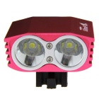 UltraFire Rechargeable Cold White 2400lm 4-Mode Bike Headlight (8.4V)