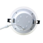 ZHISHUNJIA 24W dimmable 48-LED bulbo - branco (ac 100 ~ 240V)