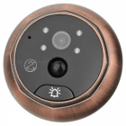 "4.3 ""pantalla digital en color Peephole puerta Bell video - oro"