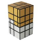 Mirror Surface Blocks Irregular Magic IQ Cube - Golden + Silver