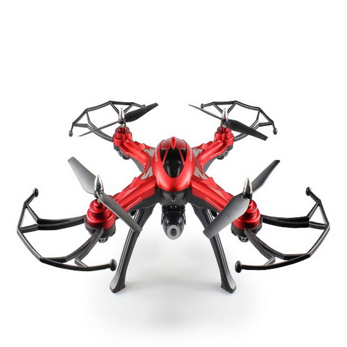 JJRC H25 (H25W) 2.4G 4CH RC Quadrotor W / 0.4MP Wi-Fi Camera - Red