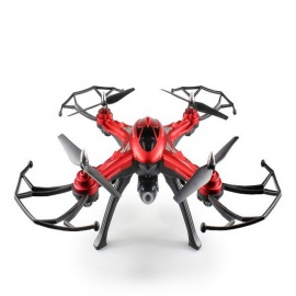 JJRC H25(H25W) 2.4G 4CH RC Quadcopter W/ 0.4MP Wi-Fi Camera - Red