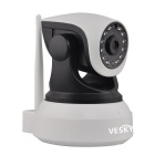 VESKYS C7824WIP Wi-Fi Security Surveillance IP Camera - White + Black