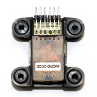 MICRO CC3D Flight Controller with Damping Mount - Black