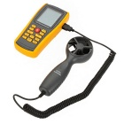 GM8902 Digital-Anemometer-Thermometer - Grau + Orange