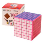 ShengShou 7x7x7 77mm Magic IQ Cube - Pink + Red+ Multicolor