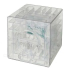 Transparent Plastic Labyrinth Piggy Coin Bank