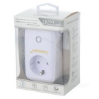 10A 2200W Smart Wi-Fi Wall Socket with 2 USB - White (EU Plug)