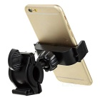 Bicycle Handlebar Phone Holder Motorcycle Navigator GPS Mount - Black