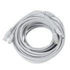 RJ45 + DC 5.5*2.1mm Male to Female POE Adpater Cable - Grey (1040cm)